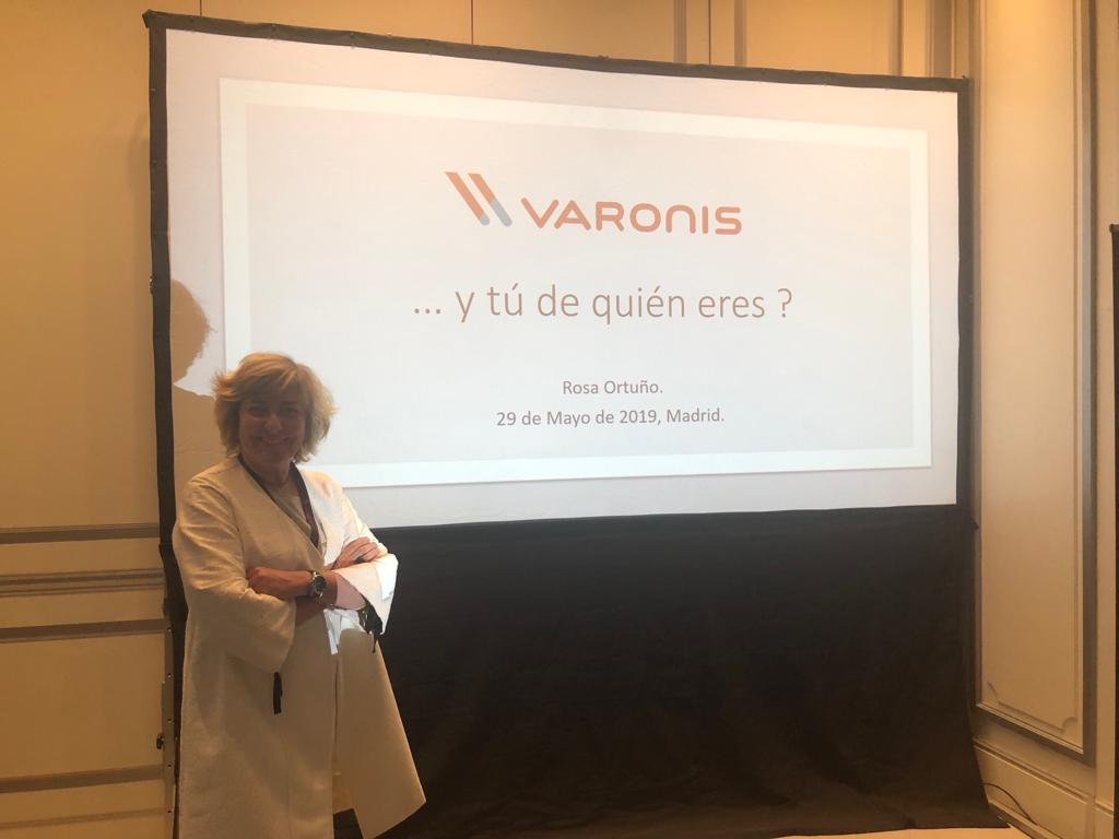 Rosa Ortuño en el 2019 VARONIS CONNECT! Madrid