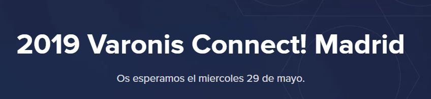 2019 Varonis Connect! Madrid.